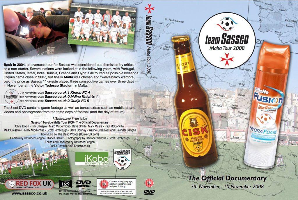 Malta Tour 2008 DVD Cover