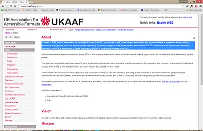 UKAAF website